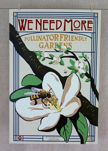 """We Need More"" color poster"