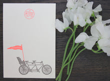 Load image into Gallery viewer, Baby Seat Letterpress Card