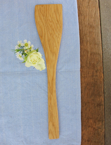 White Oak Wood Spatula