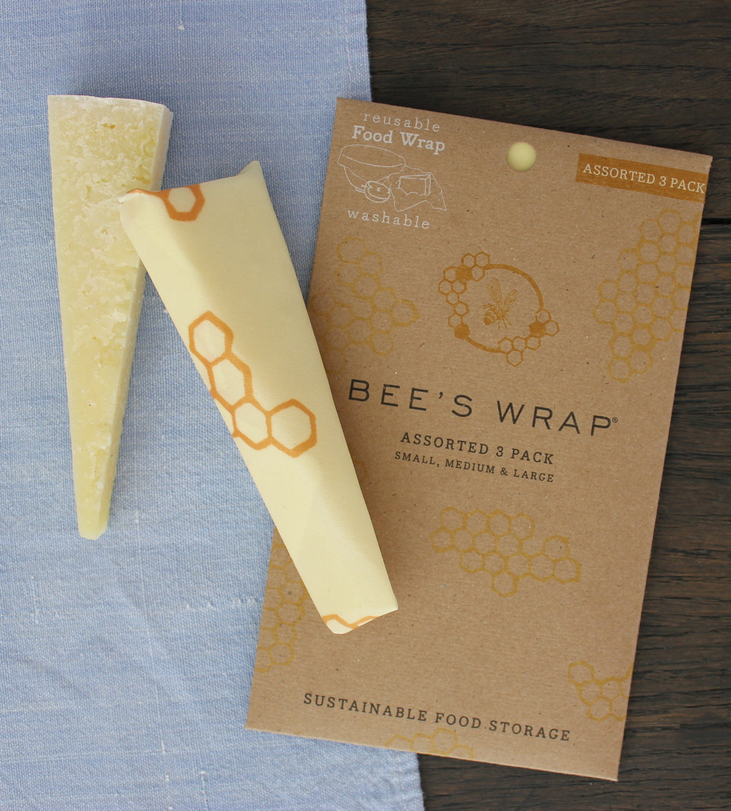 Bee's Wrap Sustainable Food Storage ~ Original Honeycomb