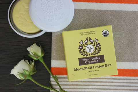 Lemon Vanilla Moon Melt Lotion Bar