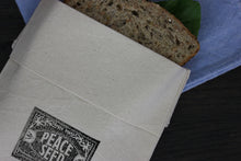Load image into Gallery viewer, Peace Seed Organic Cotton Sandwich Bag
