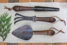Load image into Gallery viewer, Hand Forged Narrow Perennial Trowel