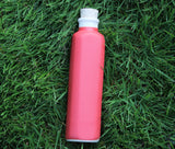Ceramic Water Bottle ~ Matte Red