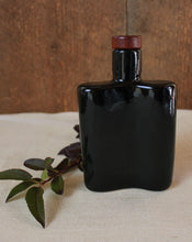 Load image into Gallery viewer, Black Ceramic Flask