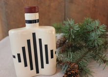 Load image into Gallery viewer, Art Deco Ceramic Flask