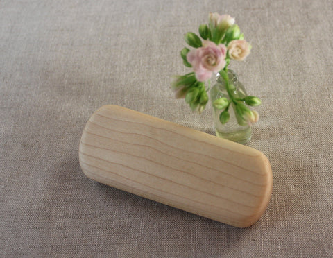 Baby Teething Rattle ~ Maple Wood