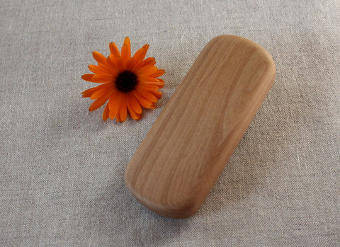 Baby Teething Rattle ~ Madrone Wood