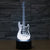 Electric Guitar Color Changable 3D Lamp