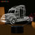 Truck Color Changable 3D LED Table Lamp