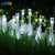 Solar-Powered Raindrop String Lights