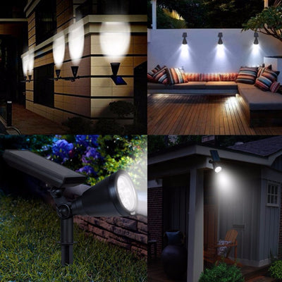 Solar-Powered Landscape Sensor Lights