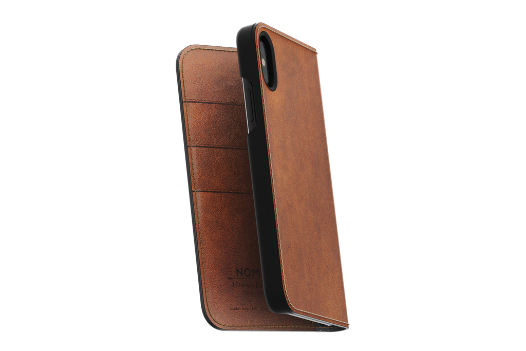 Folio Leather Case by Nomad - Akin Tech
