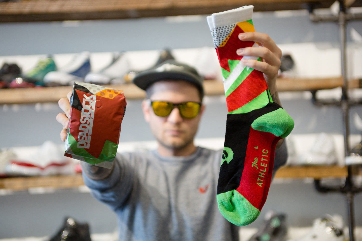 Deadstock Coffee Socks | The Athletic Community