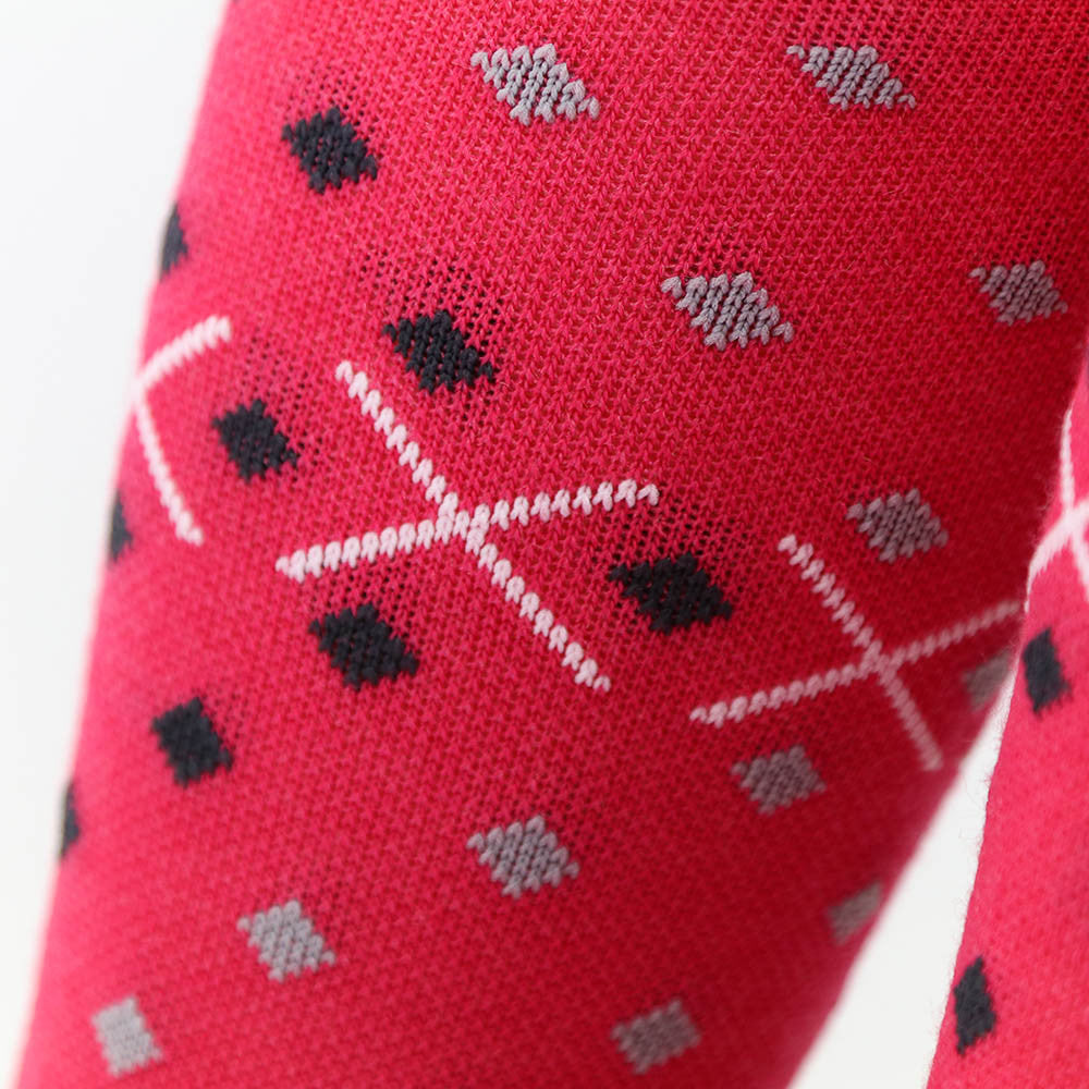 The Athletic x 290SQM Merino Wool Sock - Hot Pink