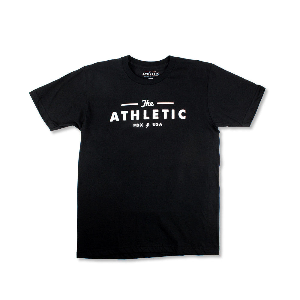 The Athletic Logo Shirt - Black