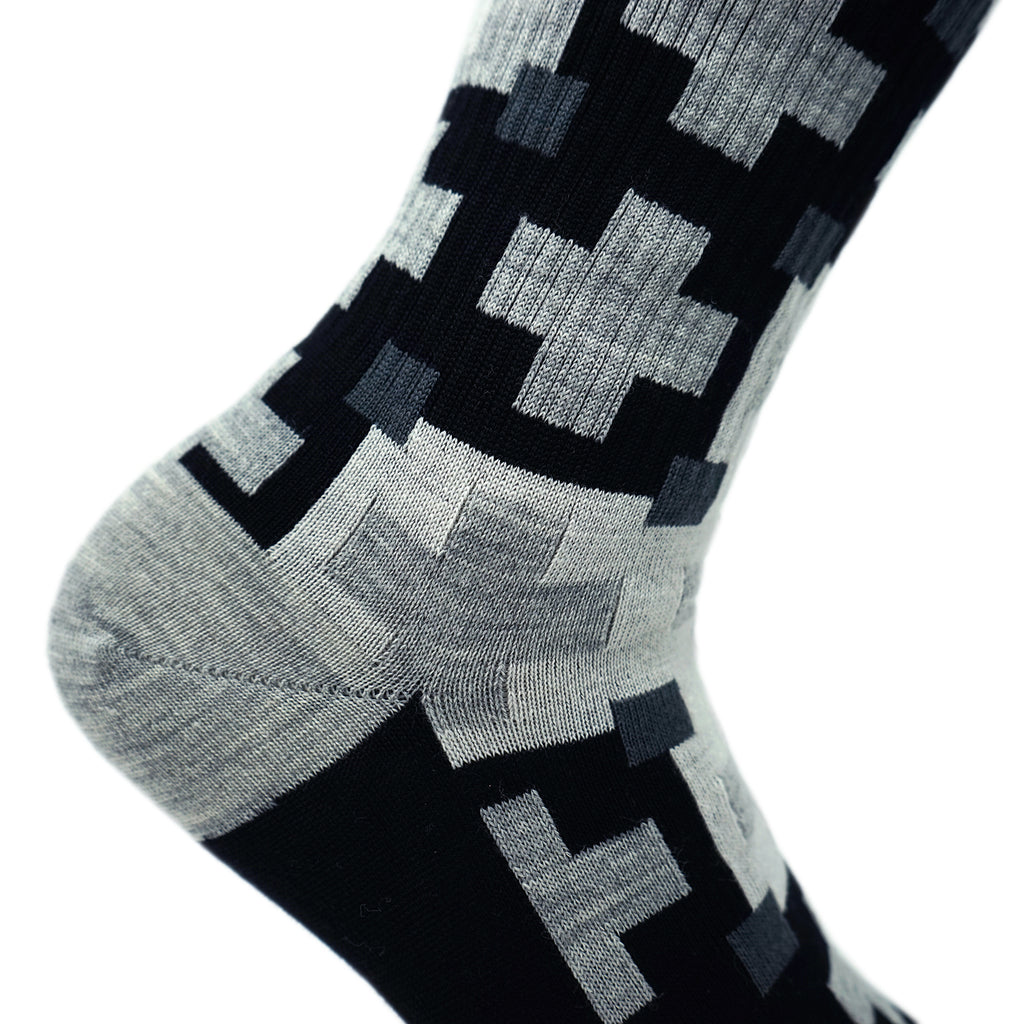 Cabin Comfort Wool Sock - All the Greys