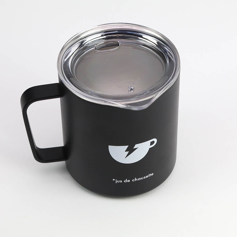 The Athletic Coffee Cup Camp Mug - Totally Black
