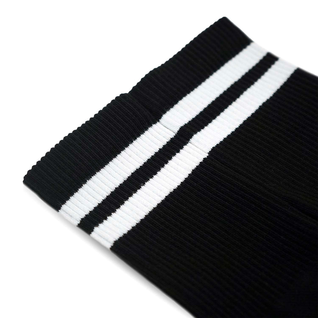Triple Double Sock Black & White