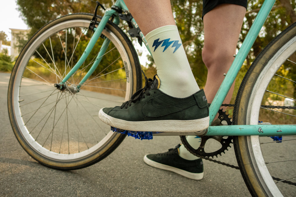 Three Bolt Sock - Minty Fresh