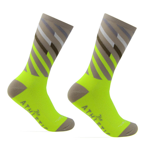 Mt. Fuji Ekiden Sock - High Viz Yellow