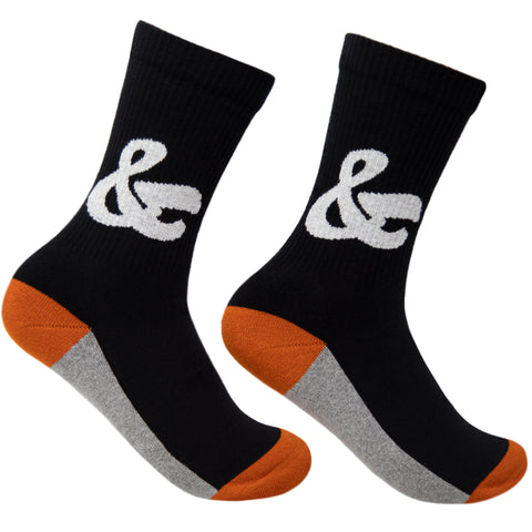 House Industries Ampersand Socks - Black