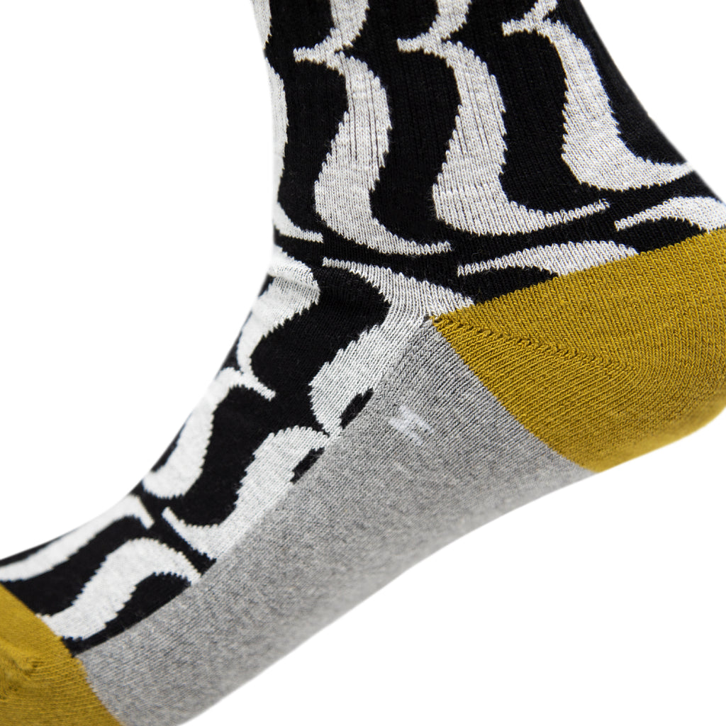 House Industries Brace Socks - Black