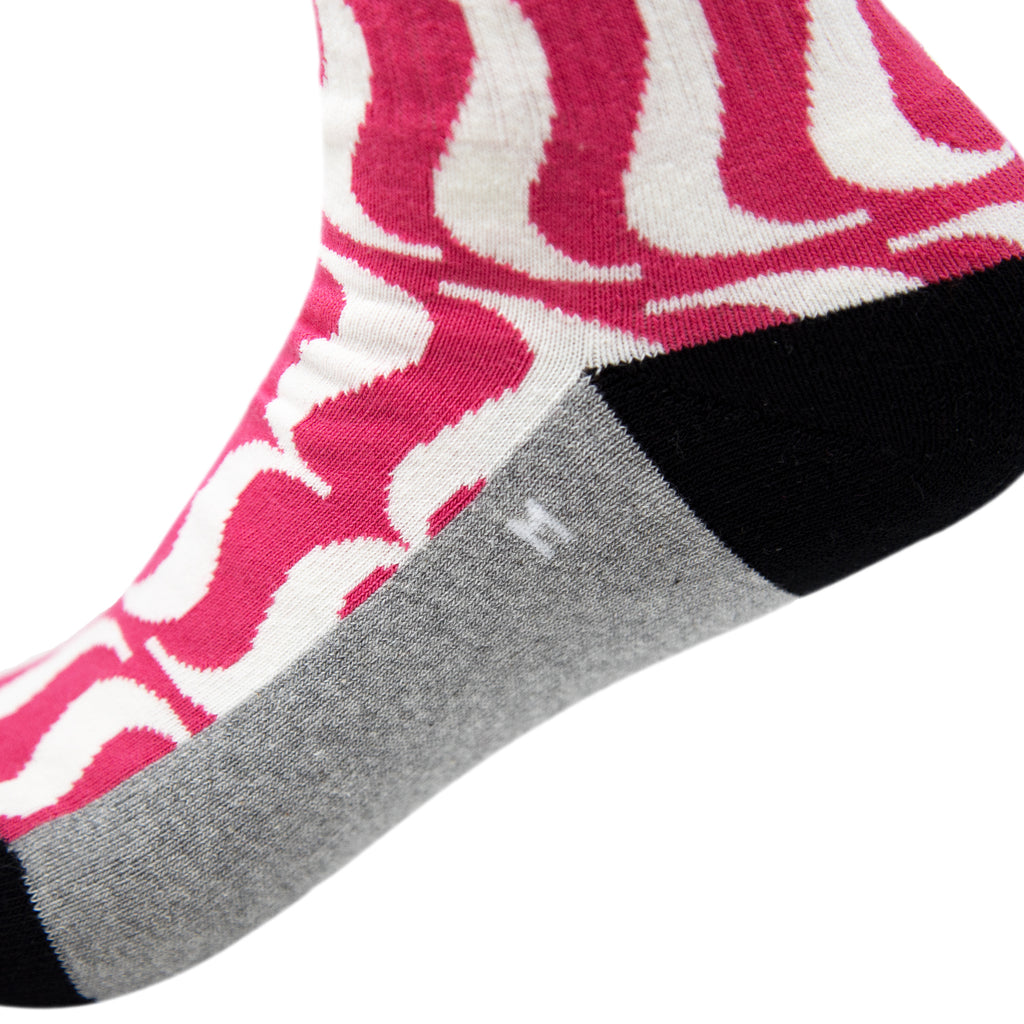 House Industries Brace Socks - Mauve