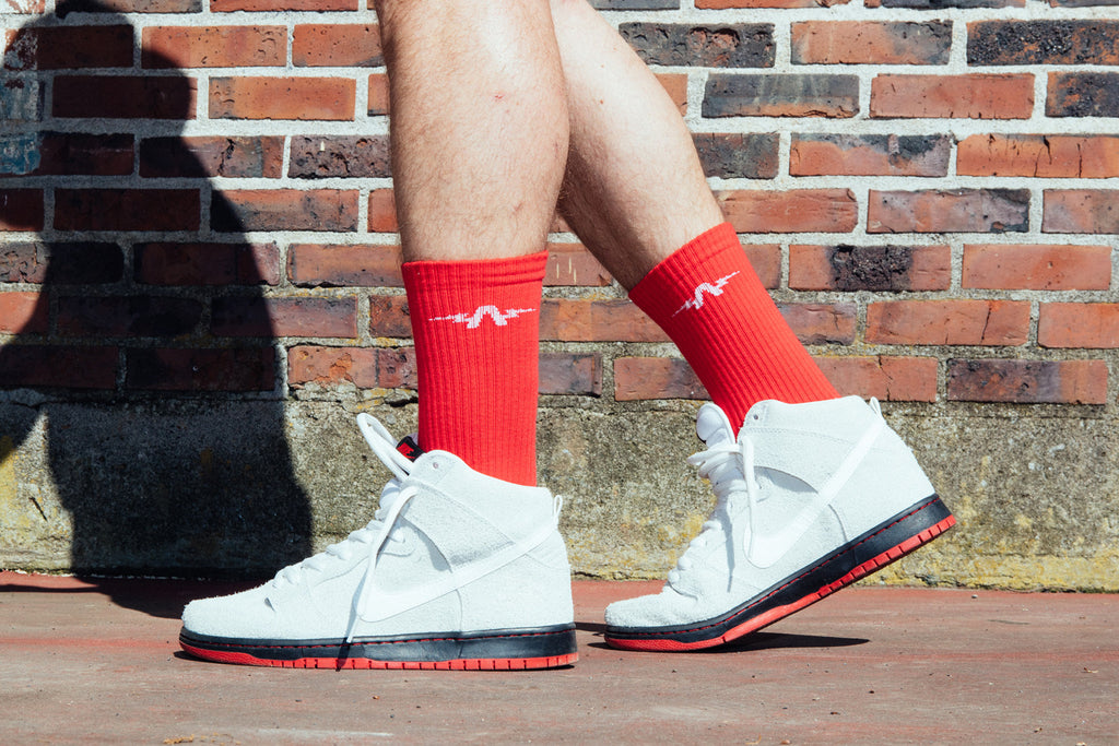 The Athletic Sport Sock - Red
