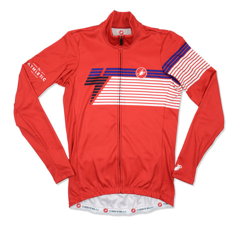 Men's National Collection LS Jersey - Red