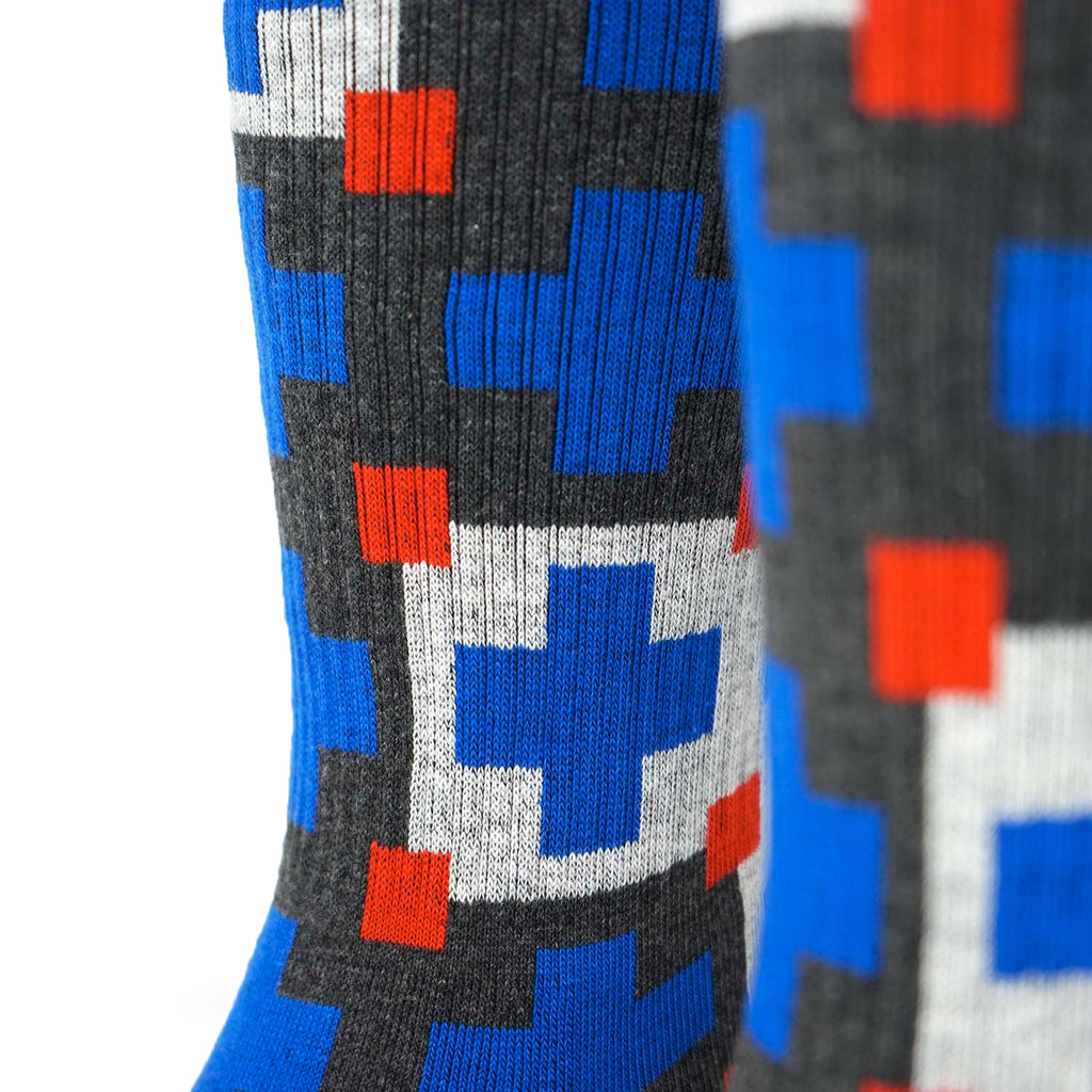 Cabin Comfort Sock - Lakeside Blue