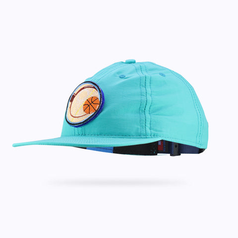 The Athletic Velcro Enhanced Hype Lite Teal Cap (Round)