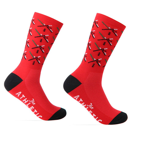 PDX Futbol Fan Sock - Home - Red