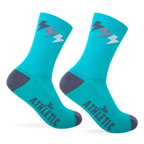 Three Bolt Sock - Sea Green