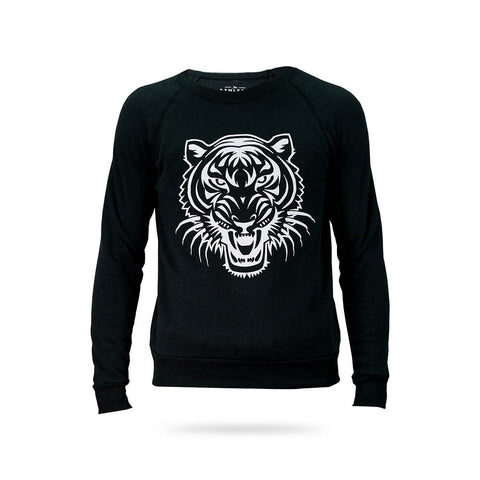 Tigre Time Sweatshirt - Black & Grey