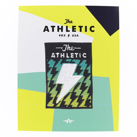 The Athletic Lightning Bolt Patch
