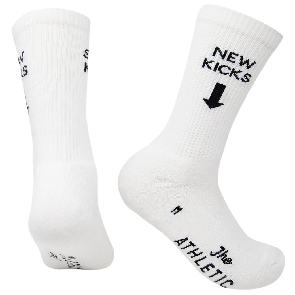 New Kicks Sweet Kicks Socks- White