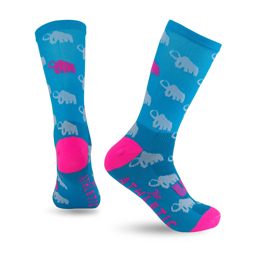 Team Wooly Mammoth Summer No. 2 Sock - Blue