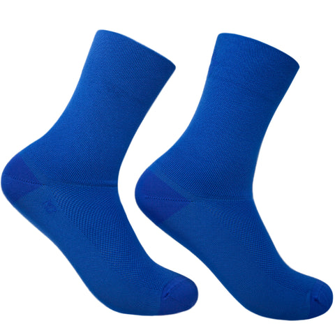 Imperial Blue Solid Socks