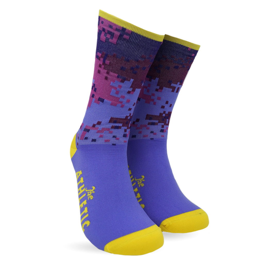 Digi Camo Sock Purple Rain