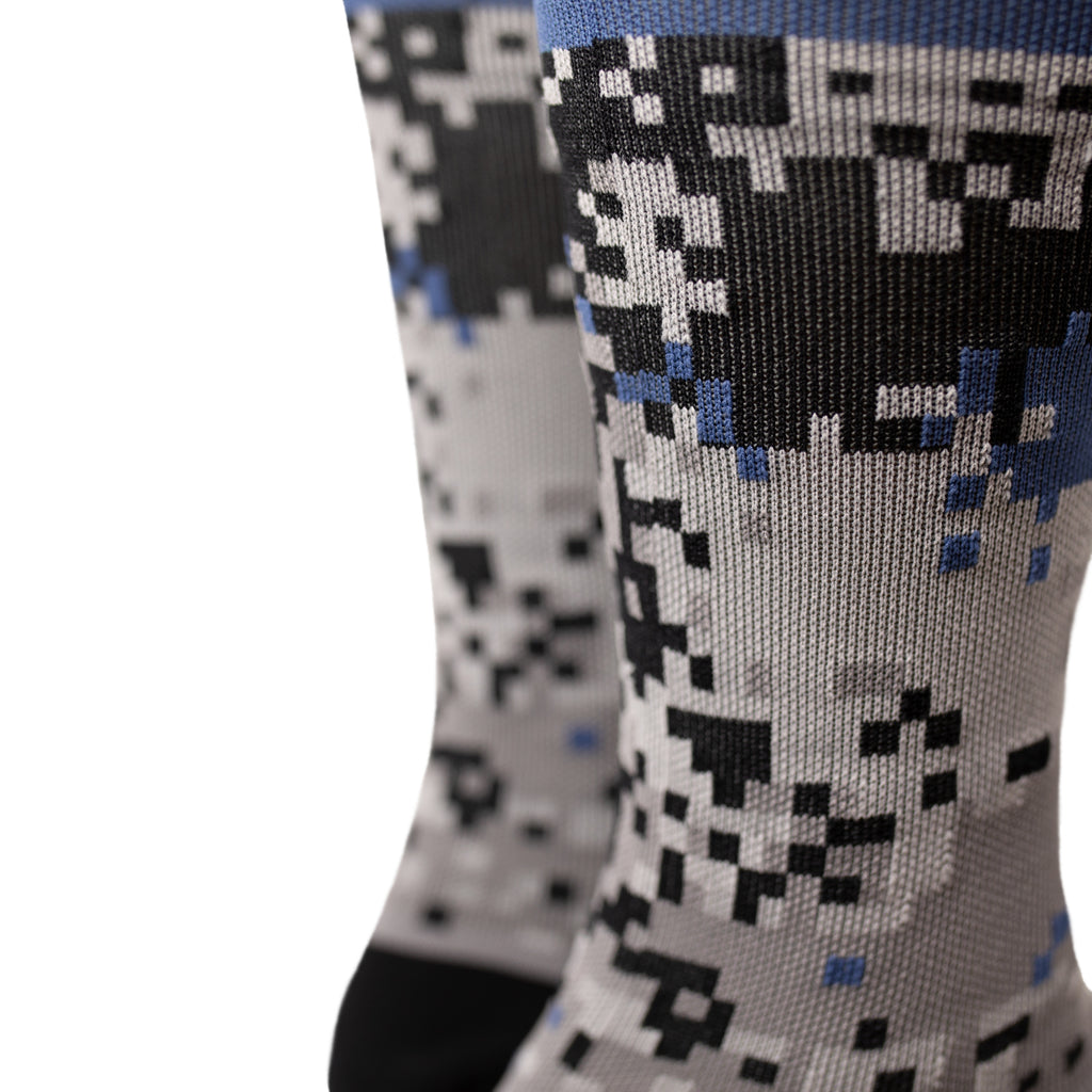 Digi Camo Sock - Black Collection
