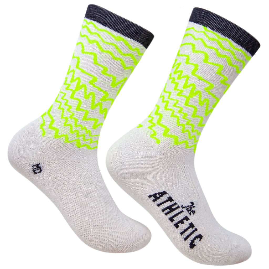 Electric Socks - White High Viz