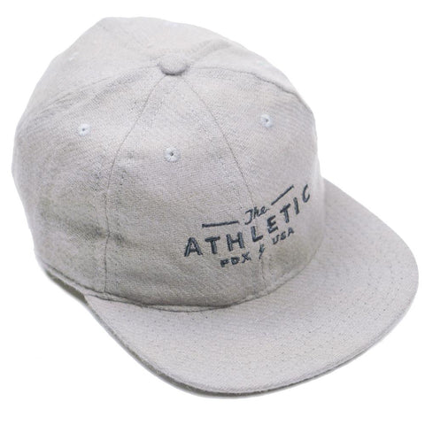 The Athletic x Fair Ends Wool Ball Cap - Oat