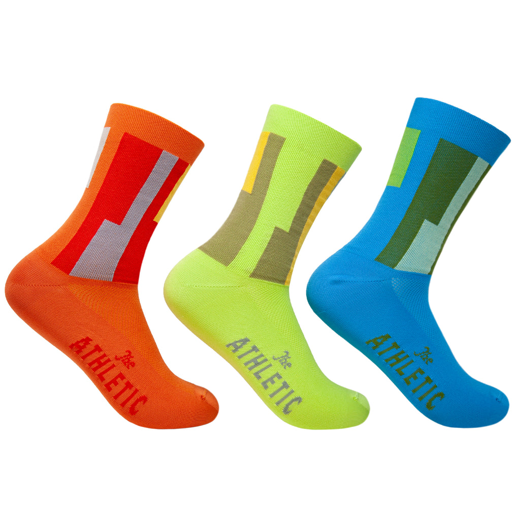 LAX Airport Mismatched Socks (Set of Three)