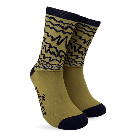 Electric Sock - Olive
