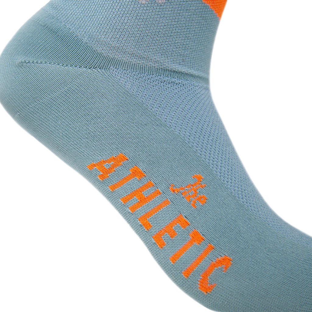 Palm Dream Socks - Mineral Blue