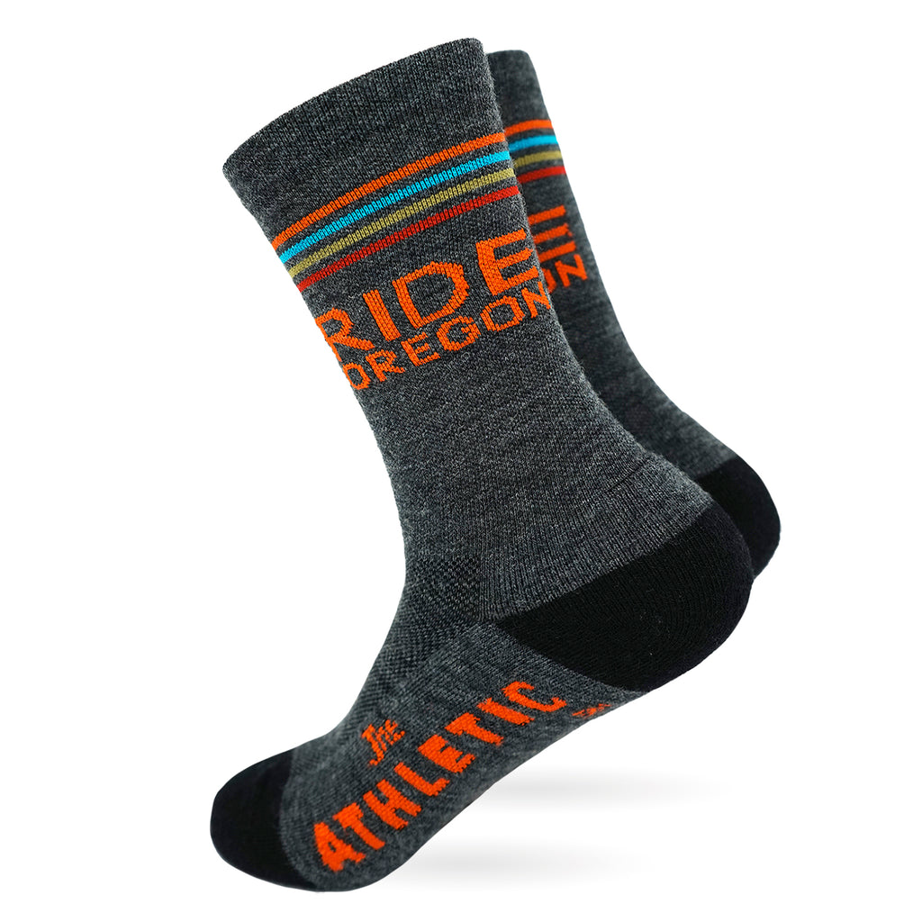 Ride Oregon Midweight Wool Socks