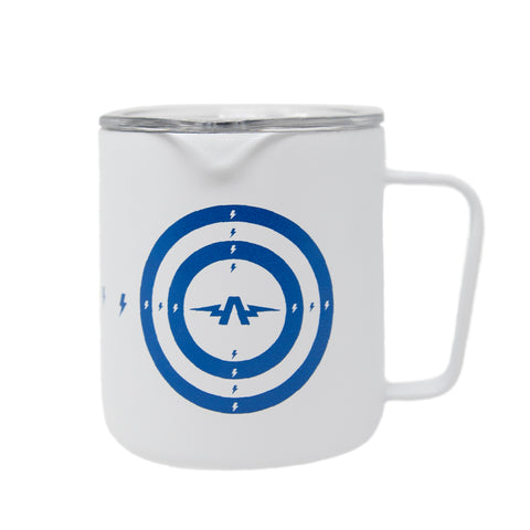 White Transmission A - Camp Mug