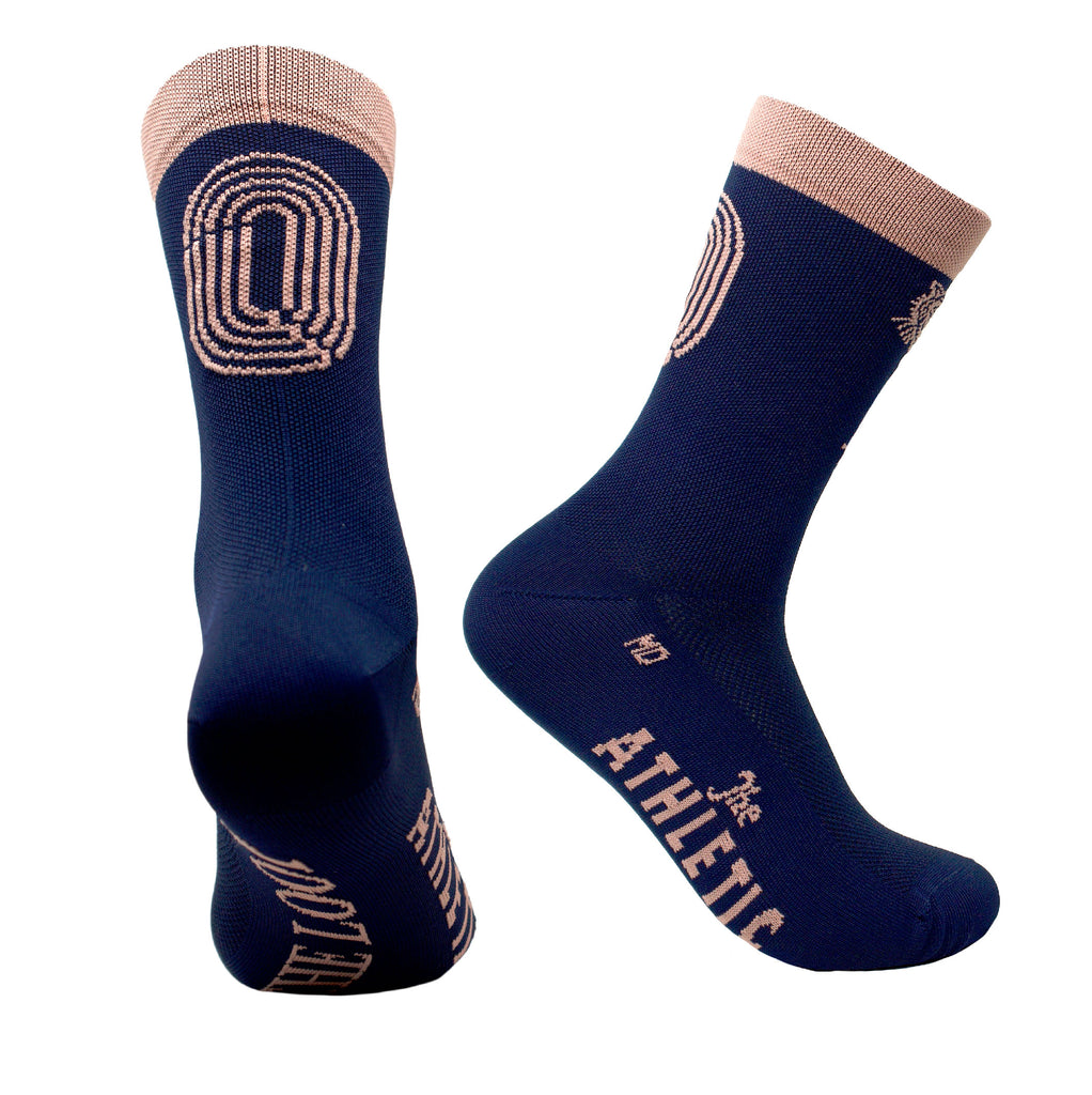 The Loop SFFT Track Socks - Navy
