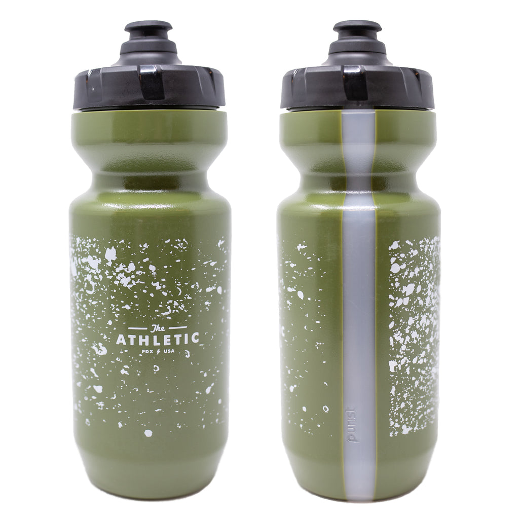 Splash & Splatter Olive Water Bottles